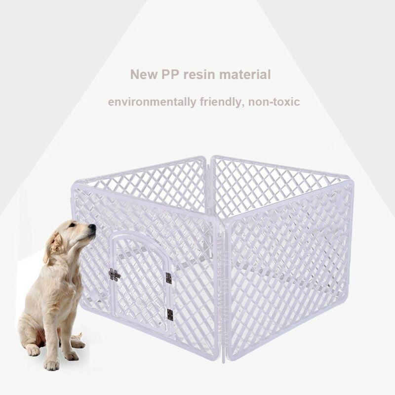 Iris Pet Playpen With Door 4 Panel Pen Small Dogs Puppies PP