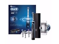 BRAUN Oral-B GENIUS 9000 Black BLUETOOTH Electric Rechargeable Toothbrush *NEW* Collection