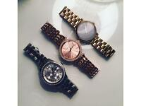 3 Designer women's watches