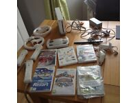 Nintendo Wii Console and games included