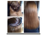 FULL HEAD WEAVE £50 1/2head £40 and £10 per row (hair not lnc but I can supply)