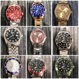Rolex watch wristwatch style retro submariner datejust Eid gift