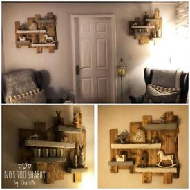 Rustic Shelving - made to order to your specifications