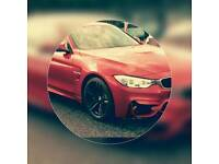 BMW M4 CONVERTIBLE FOR HIRE
