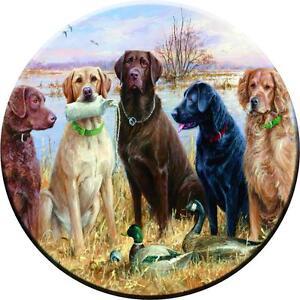 Spare Wheel Cover Sticker Dogs Custom Design Personalised