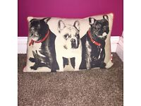 French bull dog cushion