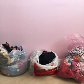 2x big bags of girls clothes