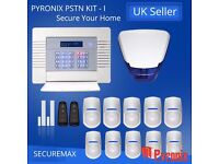 PYRONIX ENFORCER WIRELESS HOME ALARM SYSTEMS, PSTN-KIT- I UK STOCK! QUICK SHIP!!