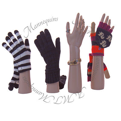 Female Mannequin Handsdisplay Jewelry Braceletgloves Leftright -a Pair Hands