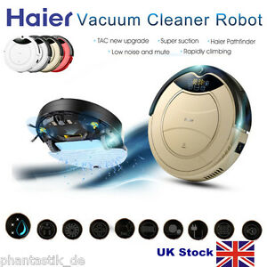 Haier Smart Cleaning Robot Vacuum Cleaner Recharge Automatic Floor Dust Sweeper