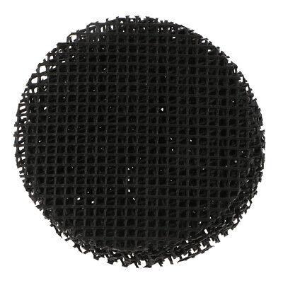 10 x Blumentopf Bottom Net Bonsai Mesh Blatt Atmungsaktive Drainage Net 8 cm (Blumentopf Net)