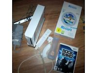 Nitendo wii with games controller