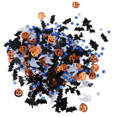 Bag of 30g Assorted Halloween Pumpkin Witch Star Table Confetti DIY Decor](Diy Halloween Table Decorations)
