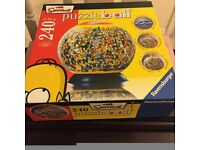 The original Simpsons 240 piece puzzle ball. Boxed.