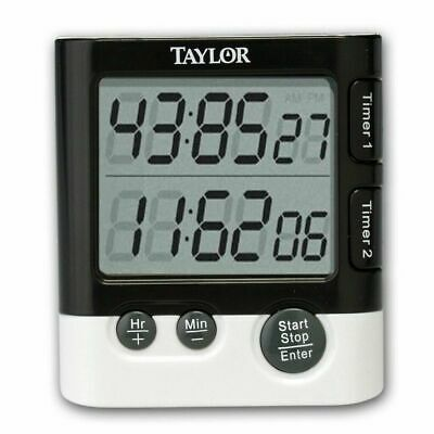Taylor Dual DGTL Timer/Clock