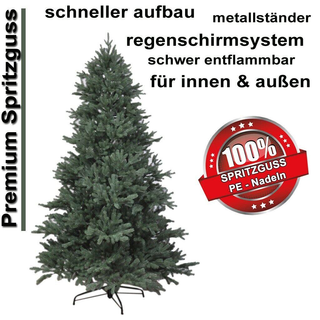 120-240cm exkl künstlicher PE Weihnachtsbaum Tannenbaum Spritzguss Baum