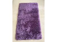 IKEA - Purple fluffy rug
