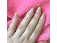 Mobile acrylic nails London, mobile gel manicure, mobile shellac manicure