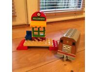 Lego Duplo Toby at Wellsworth Station 5555