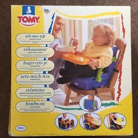 """Tomy """"Sit-me-up"""" portable high chair/booster seat"""