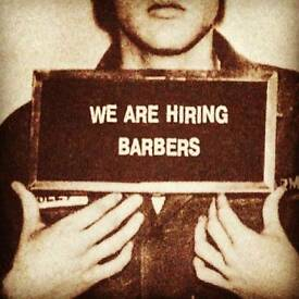 Barbers Required