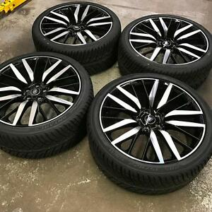 "22"" Range Rover SVR Wheels and Performance All Season Tires (Range Rover) Calgary Alberta Preview"
