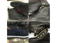 Christian Louboutin Giuseppe Zanotti Valentino Shoes Sneakers Runners trainers London England cheap