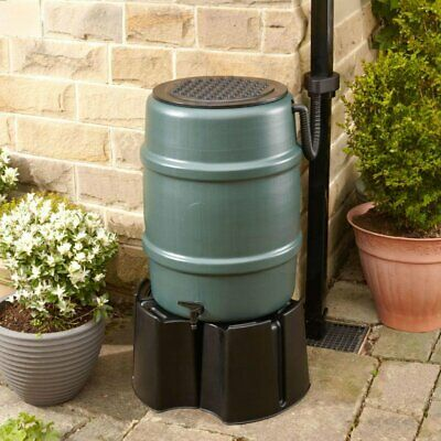 114 litre Water Butt Kit - Includes stand and diverter. Rainwater harvesting
