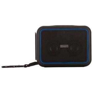 iHome IBT35BLC Waterproof Portable Bluetooth Speaker - Blk/Blu(Open Box)