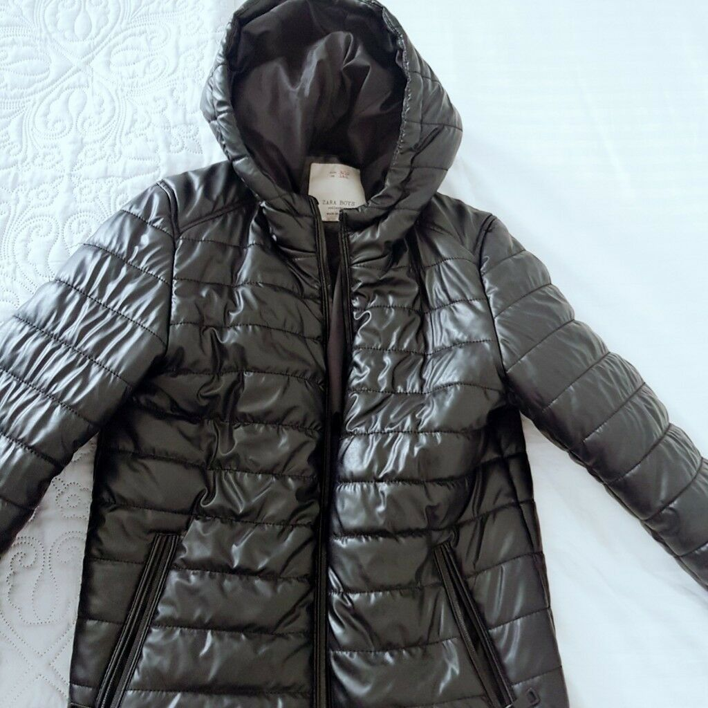 e4766469507b Boys black puffer coat