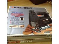 Black & Decker variable speed electronic auto scrolling saw BRAND NEW STILL BOXED