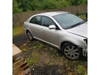 2008 2.0D Toyota Avensis For Breaking