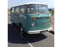 Beautifully Restored 1973 VW Camper Van