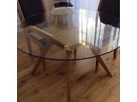 Modern Glass Dinning Table