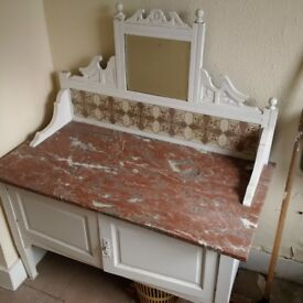 beautiful vintage period bathroom dresser or vanity cabinet can deliver