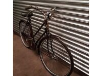Vintage rudge bicycle comes with new tyres