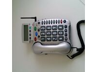Big button phone hearing aid compatible