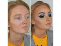 MAKE UP ARTIST AVAILABLE FESTIVAL/GLAM/BRIDAL/HEN PARTY