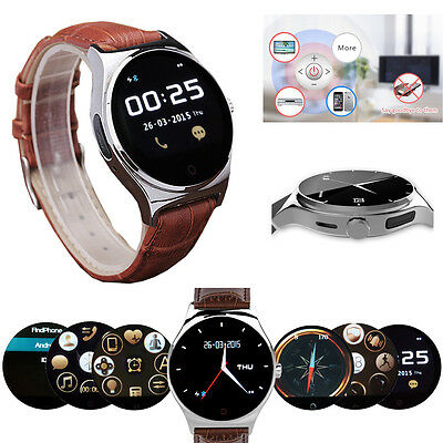 Bluetooth Smart Watch Heart Rate Monitor For Samsung S7 S6 Note 5 4 3 Lenovo K3