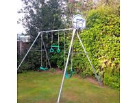 TP Triple Giant Swing with Basketball Hoop