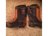 Husqvarna chainsaw boots