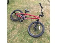 Mongoose Red Legion 20 BMX 12 months old hardly used excellent condition.