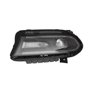 2015-2018 Dodge Charger Headlight Driver Side Hid High Quality