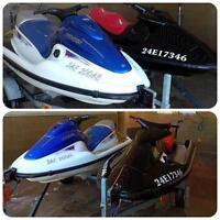 2003 and 1999 Polaris watercraft