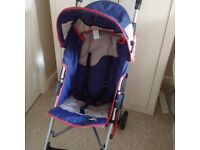 Buggy and baby carrier - complete with covers