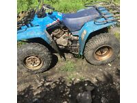 Yamaha big bear 350 4x4 farm quad