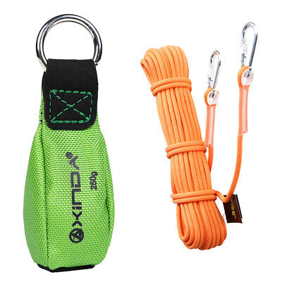 65.6 0.37 Climbing Auxiliary Rope 8.8oz Tree Rigging Green Throw Weight