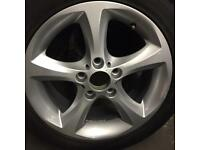 "BMW ONE series alloy wheel for sale only got one 17"" £85 call 07860431401"