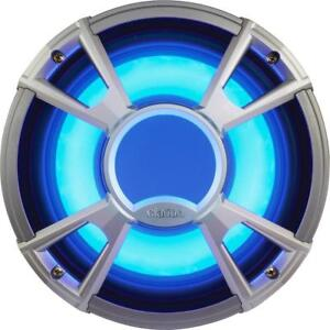 "Clarion Marine Audio Systems - CMQ2512WL 10"" Marine Subwoofer with Built-In Blue LED Light (Pair)"