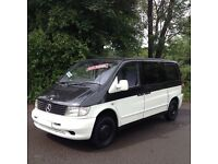 FUNKY STYLISH 2003 MERCEDES BENZ VITO 110 CDI DAY SURF BUS/CAMPER/IDEAL SIZE/ VW T4/T5 /MAZDA /BONGO